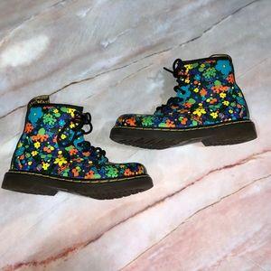 Dr. Martens Brooklee Floral Boots